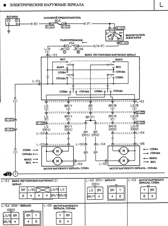 Электрическая схема mazda 323 фото 764