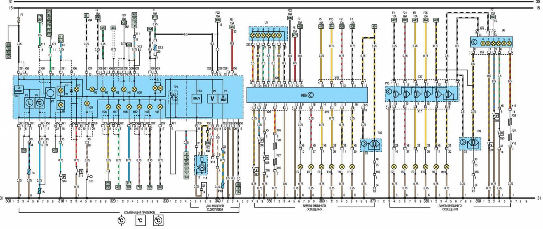 Электрическая схема зажигания опель омега