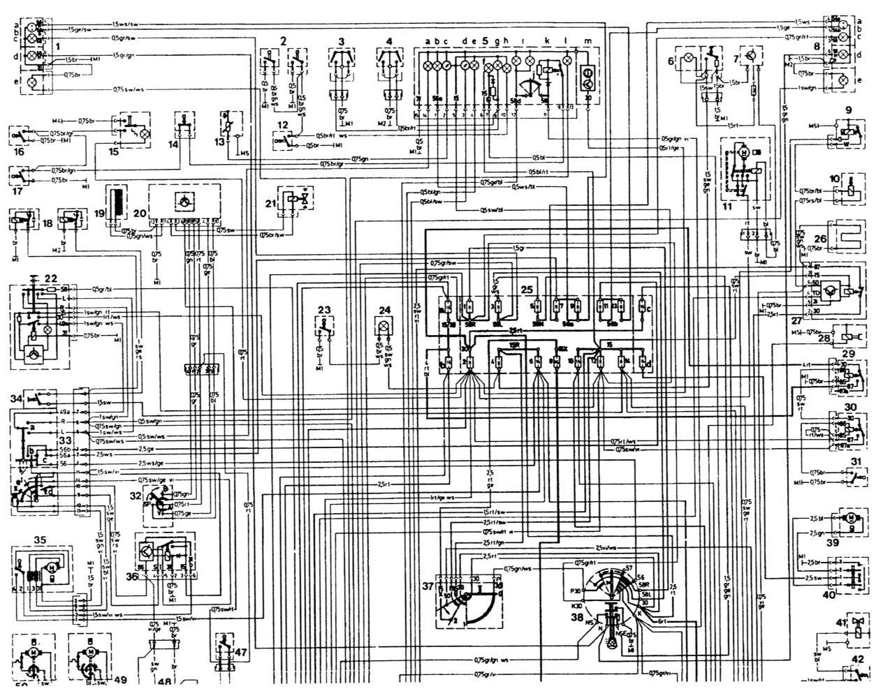 Схема проводки на мерседес фото 163