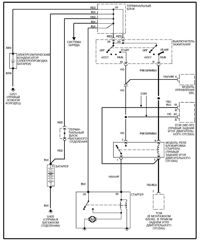 Схема замка зажигания мерседес фото 269