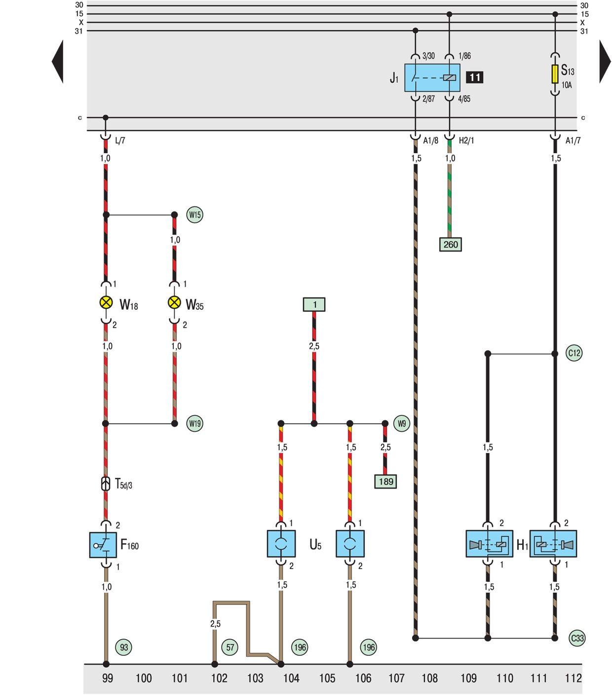 Фольксваген шаран схема зажигания