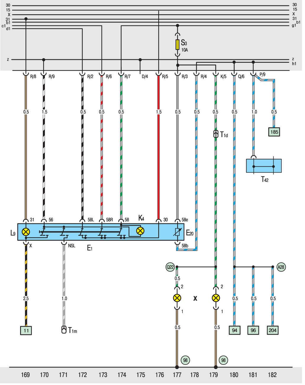 Схема двигателя транспортер т4 бензин
