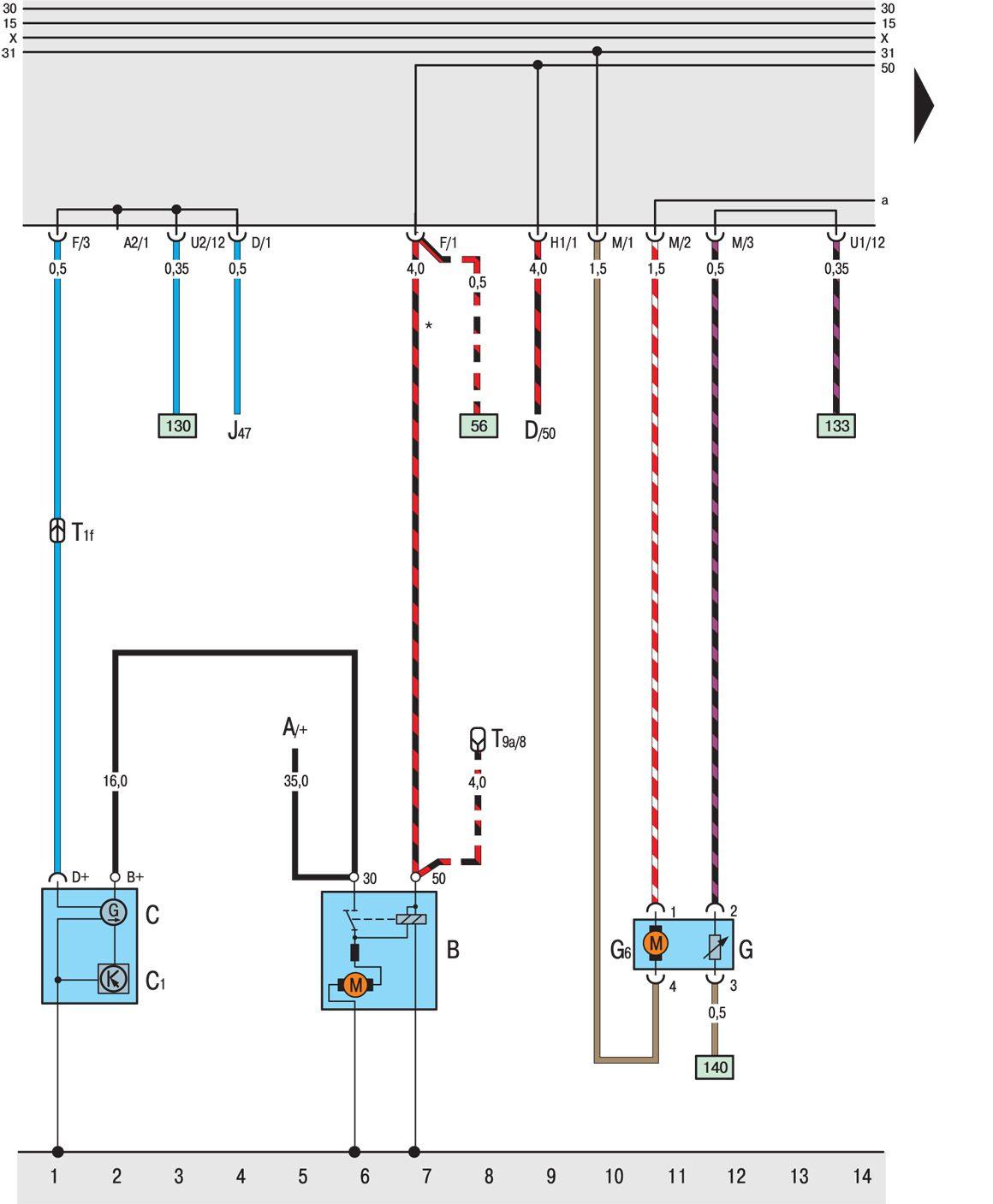 Схема реле стеклоочистителя фольксваген