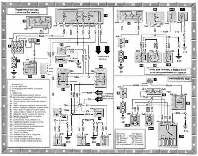 Схема Электропроводки - Клуб Пежо 407