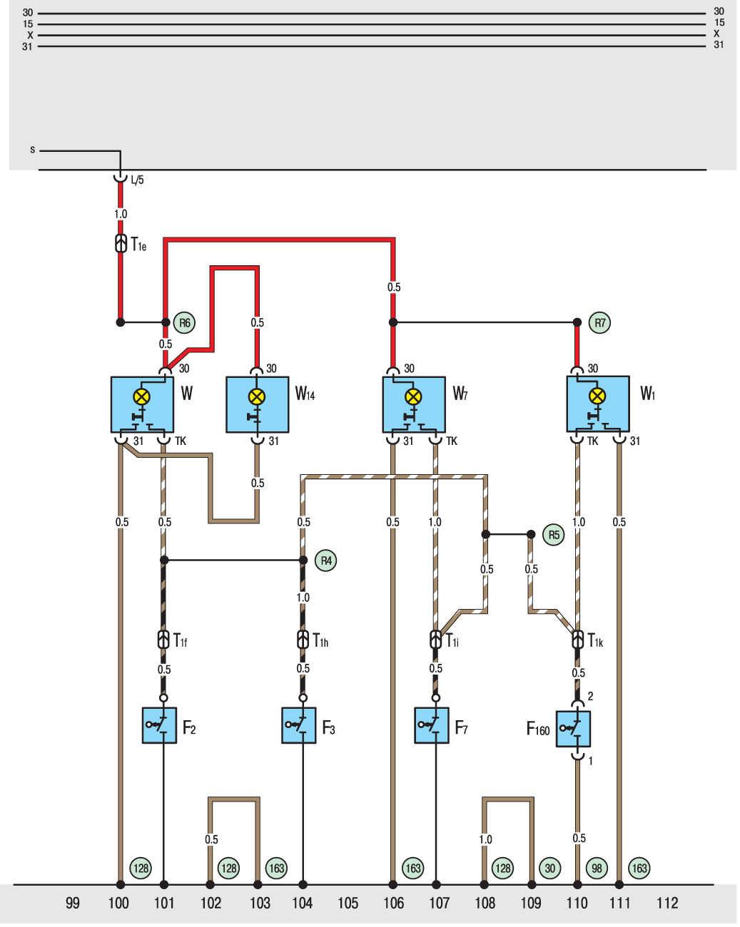 Электрическая схема т5 транспортер авито тула и область купить фольксваген транспортер