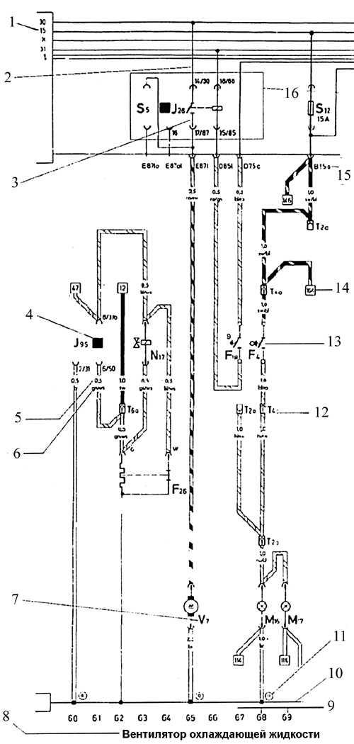 Электрическая схема фольксваген т4 транспортер казахстан конвейерное оборудование