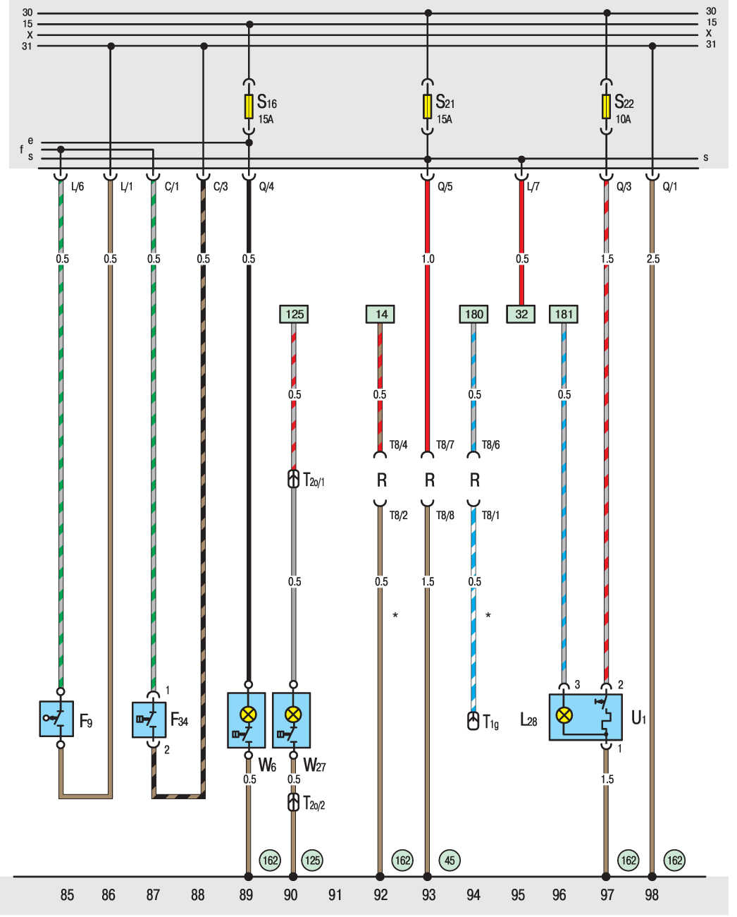 Фольксваген транспортер 2001 года схема электро элеваторы юга