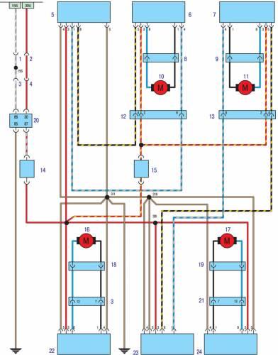 Схема автомобиля - БМВ 3