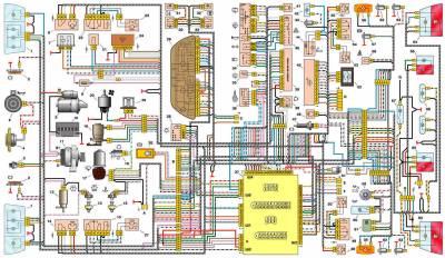 s42877405 - Схема включения стоп сигналов ваз 2110