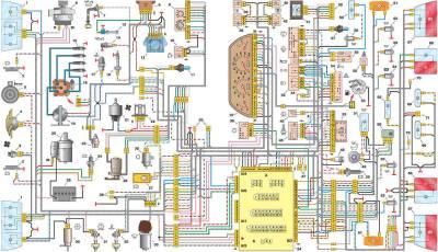 s48392325 - Схема включения стоп сигналов ваз 2110