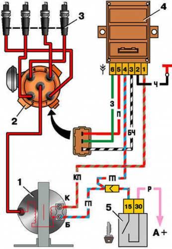 s59952363 - Схема включения стоп сигналов ваз 2110