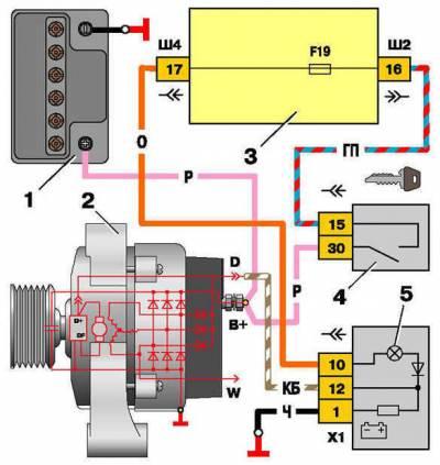 s64007860 - Схема включения стоп сигналов ваз 2110