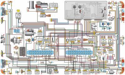 s67107541 - Щиток приборов газ 3110 распиновка