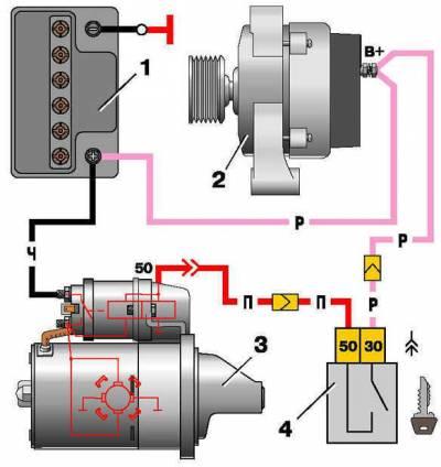 s75366193 - Схема включения стоп сигналов ваз 2110
