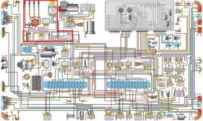 s87115925 - Щиток приборов газ 3110 распиновка