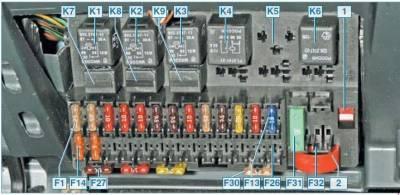 s87120323 - Схема предохранителей приора 16 клапанная