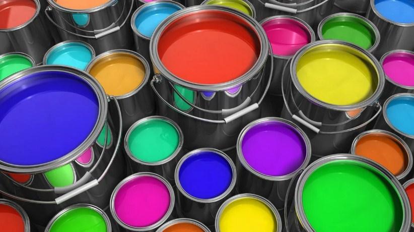 цветная краска