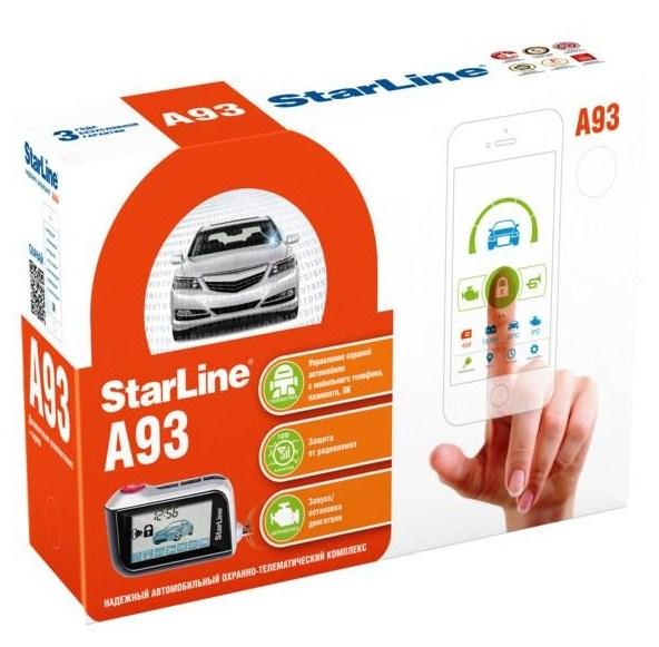 Сигнализация StarLine A93 GSM